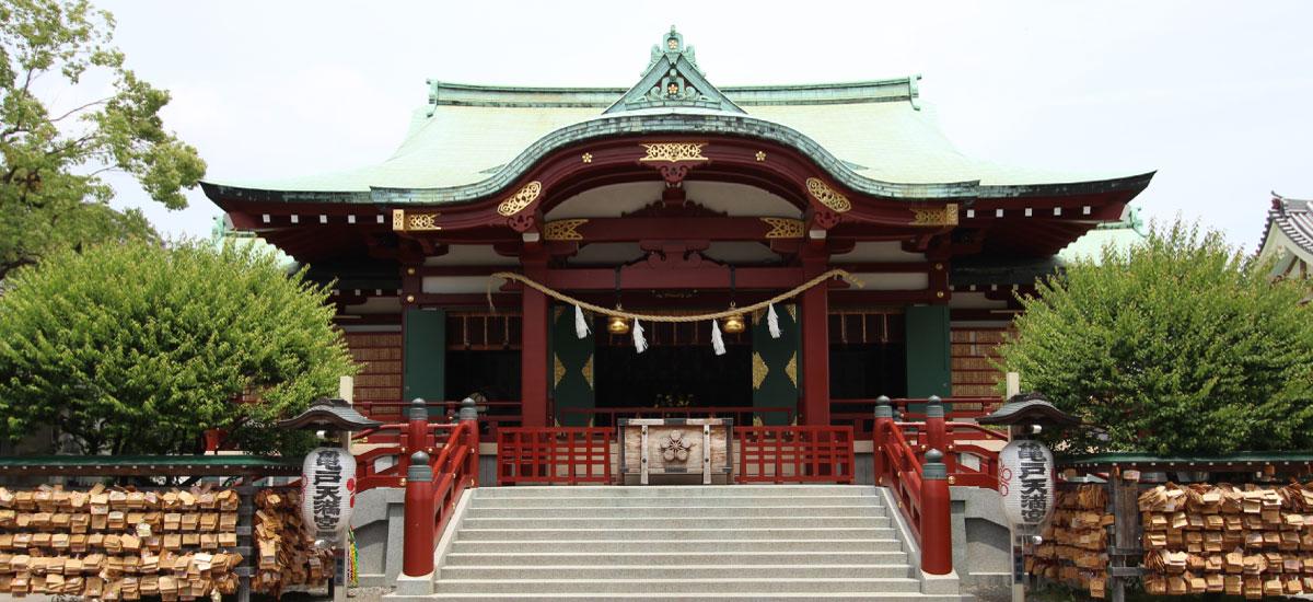 「亀戸天神宮」の画像検索結果